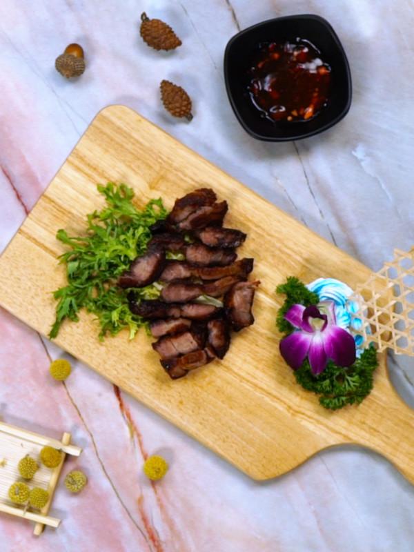 叉烧肉成品图