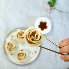 玫瑰花蒸卷-养生文化网