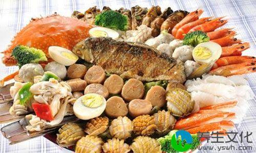 而气管哮喘患者,往往是过敏体质,而鱼,虾,蟹等海产品致敏性极强,易于