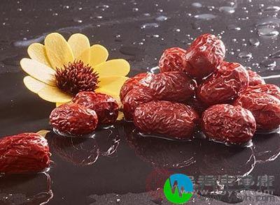 红枣具有健脾养胃的功效