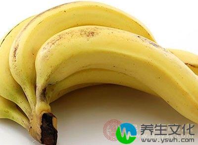 香蕉含能帮助人脑产生羟色胺的物质