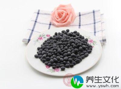 糯米黑豆粥