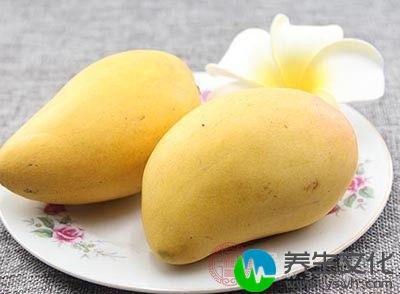 芒果是一种非常有营养的水果