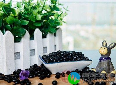 黑豆中含有异黄酮