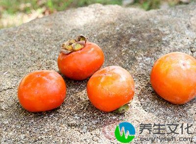 柿子中含有鞣酸
