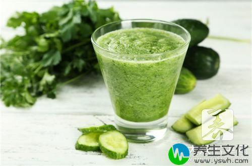 黄瓜和什么榨汁减肥