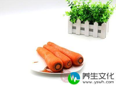 胡萝卜是碱性食物,含有果胶
