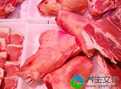 瘦肉可以帮助患者生津润肠